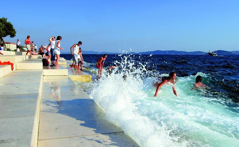 Morske orgulje - Zadar